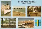 SAINT HILAIRE DE RIEZ  SION L´ OCEAN 85 ( CARTE MULTIVUE )  TRES BON ETAT ! ! ! - Saint Hilaire De Riez
