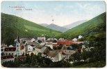 Slovakia/Hungary: Trencsénteplicz, Panorama  1910 - Slovakia