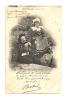 Cp, Musique, Bretagne, Me Et Me Botrel, Voyagée 1902 - Musique