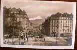 SUISSE: GENEVE Rue Du Mont Blanc (carte Photo Au Bromure) - GE Ginevra