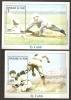 Niger 1999 N° BF 116 / 7 ** Sport, Base-ball, Hommage, Ty Cobb, Portraits Du Joueur - Niger (1960-...)