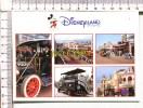DISNEYLAND - Paris -  Main Street,  USA  -  5 Vues - Disneyland