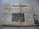 Paris Soir  Jeudi 28 Septembre 1939 - Journaux - Quotidiens