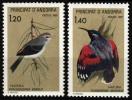 ANDORRE FRANCAIS  294  295  1981 OISEAUX ( PROTECTION DE LA NATURE ) - Vogels