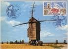 CARTE Maximum  VALMY Le MOULIN   1992 BICENTENAIRE DE LA BATAILLE - Cartes-Maximum