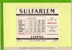 BUVARD Pharmacie :SULFARLEM  Laboratoire   Latema - Chemist's
