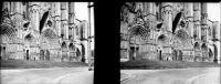 BOURGES - CHER - PN 001 - Portail De La Cathédrale - Plaques De Verre