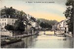 Namur - La Sambre, Vue De La Passerelle (colorée, Péniche) - Namur