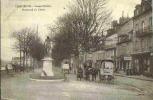 1917 COMPIEGNE - Vue Animée Peu Courante Boulevard Du Cours - Magasins - Compiegne