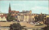 ZS17934 Schwerin Alter Garten Mit Theater Und Dom Used Perfect Shape - Schwerin