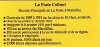 FRANCE - CARNET -  N° 2712-C1 - Marseille La Poste Colbert - Côte 14 Euros. - Definitives