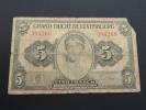 Billet 5 Francs - Grand Duché Du Luxembourg - Grande Duchesse Charlotte - 384260 - Luxembourg