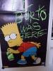 Affiche Poster : Bart Simpson Taggeur Par Matt Groening - The Simpsons - Simpsons