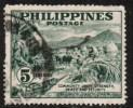 PHILIPPINES   Scott #  554  VF USED - Philippines