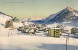 DAVOS - DORF > Wunderschöne Winter-Karte ++++ Ca.1915,  Col.Lichtdruck - GR Grisons