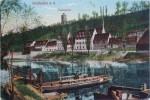 1938 GERMANY POSTCARD WEISSENFELS SAALPARTIE - Weissenfels