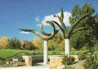 Etats-Unis-Janesville Wisconsin -Sculpture   Dialogue World Peace ( By O.V.Shaffer) Botanical Garden Rotary Gardens - Janesville