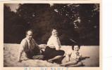 19510 Trois 3 Photo Année 1953 Mer De Sable France . Couple Femme Trio