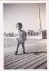 19512 Trois Photo Enfant 1947 -1948 Ballon