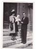 19516 Quatre Photo Enfant - Date :1944- Parent  - Sans Doute Paris France -chapeau