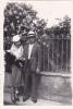 19518 Quatre Photo Couple - Date :194?- Amoureux- Sans Doute Paris France Montmartre?  -