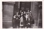 19521 Couple Enfant, Bapteme - Sans Doute Paris Datée Vers 1945