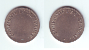 French Telephone Token Compagnie LeTaxiphone (large) - Jetons En Medailles
