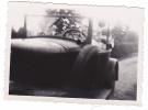 19525 Trois Photo Date 1934, Tremorel 22 France, Vieille Voiture - Photos