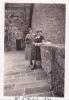 19529 Photo Mont Saint Michel 1934 Femme