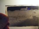 Negatif 5.5x 8.5cm-2 Motos  Ancienne- -personnages Et Lieu Eglise   A Identifier- - Photography