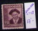 ANDORRA ESPAÑOLA 1948.1953 - TIPOS DIVERSOS - CONSEJERO GENERAL - EDIFIL Nº 48** - Nuevos