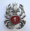 INSIGNE LEGION ETRANGERE CAVALERIE DU 1° REC  AMPHIBIE DRAGO PARIS (R) - Armée De Terre