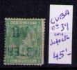 CUBA 1877 - ALFONSO XII - EDIFIL Nº  39 - Elobey, Annobon & Corisco