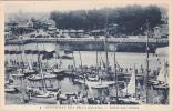 19555 Ouistreham-Riva Bella -Les Yachts Dans L'Ecluse-(14 France) ; Gaby 8 Vieille Voiture - Bateaux