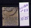 CUBA 1883 - ALFONSO XII - EDIFIL Nº  67 - Elobey, Annobon & Corisco