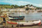 19569 Saint Aubin's Harbour, Jersey. PT28779. Fille Barque BM39 Girl Ship
