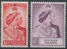 Pitcairn : N° 11/12, Noces D'argent - Unclassified