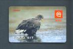 SLOVENIA  -  Remote Mobitel Bird Phonecard As Scan - Slovénie