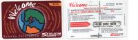 Tel019 Scheda Telefonica Internazionale | International Phonecard - New Welcome WEV - Italia
