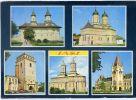 Roumanie--IASI--Le Monastère (voitures) - Roumanie