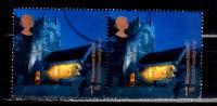 Great Britain 2000 1st Church Floodlight Project #1931  Pair - 1952-.... (Elizabeth II)