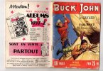 BUCK JOHN N°102 BIMENSUEL DECEMBRE 1957 IMPERIA LE BAYARD DU FAR WEST - Livres, BD, Revues