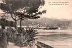 06 BEAULIEU SUR MER VUE DE LA ROUTE DE ST JEAN  CIRCULEE 1912 - Beaulieu-sur-Mer