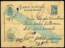 1945 Romania Feldpost, Fieldpost, Military.  Oficiul Militar No 43. Censorship. (Q07014) - World War 2 Letters