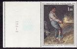 FRANCE  1971 -  Y&T 1672  -  Millet  -  NEUF** Bord De Feuille - Francia