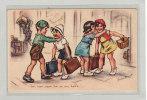 ILLUSTRATEUR / GERMAINE BOURET / RARE / Ben Mon Vieux,t´en As Une Balle!... - Bouret, Germaine