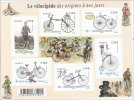 """Bloc 2011 Neuf """"Le Vélocipède Des Origines à Nos Jours"""" 6 Timbres à 0,58€ - Neufs"""