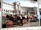 AUSTRIA  CARROZZELLA  CARROZZA CAVALLI HORSES V1984 DO4945 - Taxi & Carrozzelle