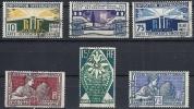 """YT 167 """" Exposition Arts Décoratifs Série De 6 Timbres """" 1924-25 Oblitéré - France"""