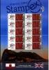 GREAT BRITAIN - 2004  SMILERS SHEET  STAMPEX SPRING - GIBRALTAR - Fogli Completi